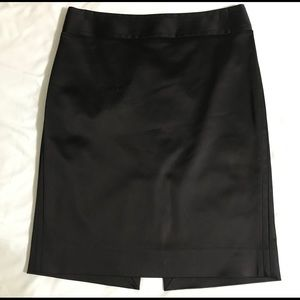 WHBM Silk Pencil Skirt size 4
